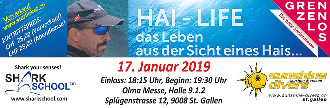 Sharkschool 2019, St. Gallen