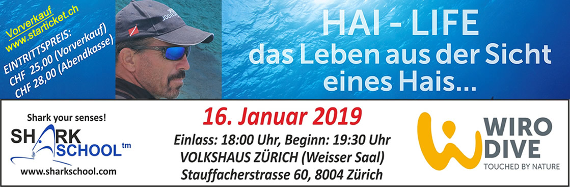 Sharkschool 2019, Zurich