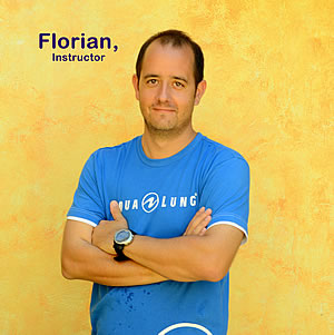 Florian Monn - SSI Scuba Instructor & SSI Freediving Instructor